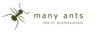 logo many ants